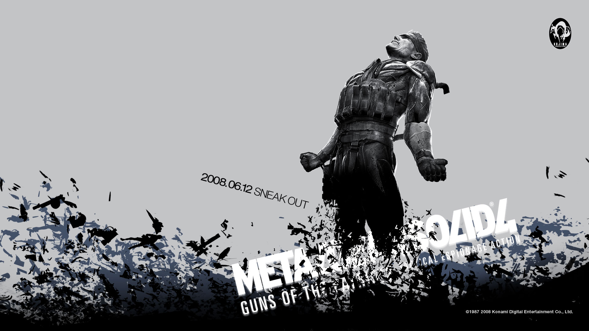 Metal Gear Solid 4 Wallpapers Metal Gear Solid 4 Fan S Blog